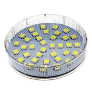 5w gx53 led spotlight 36 smd 5050 280-350 lm cool hvid ac 220-240 v