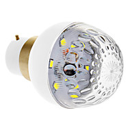 Ampoules Globe Blanc Froid B22 W 6 SMD 2835 100 LM 7000 K DC 12 V