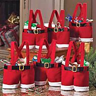 Σάντα παντελόνια στυλ Χριστούγεννα Candy Δώρο (1 PCS)