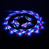 5M 18W 60x3528SMD RGB Light LED Strip Light with Remote Control (AC 85-265V)