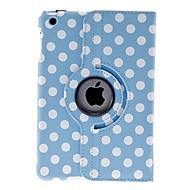teste padrão de pontos redondos caso azul para mini-ipad 3, mini iPad 2, iPad mini