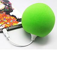 3,5 mm lydstik Mini Balloon bærbar stereohøjttaler (assorterede farver)