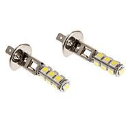 H1 6W 13x5060SMD 450LM 5500-6500K fresco Lâmpada LED de luz branca para o carro (12V)