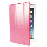 Auto Sleep Three Folds Crazy Horse Leather Full Body Case with Stand for iPad Air (Assorted Colors)