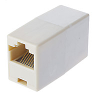 RJ45 8-Pin Female to Female Cable Extender Coupler