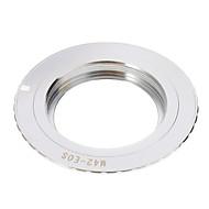 M42-EOS Camera Lens Adapter Ring (Silver)