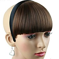 vrouwen synthetische pruik met haarband hittebestendige fiber goedkope cosplay party haar hoepel