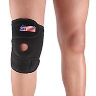 Kniebandage Sport unterstützen Schützend Fitness / Laufen Schwarz