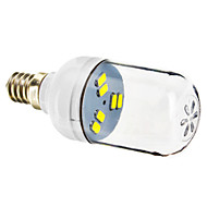 E12 1 W 6 SMD 5730 70-90 LM Cool White Spot Lights AC 220-240 V