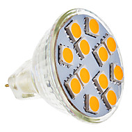 GU5.3 3.5 W 12 SMD 5050 210-250 LM Warm White MR11 Spot Lights AC 12 V