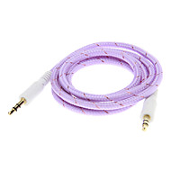 Weave Line Audio Jack kábel (Purple 1.0m)