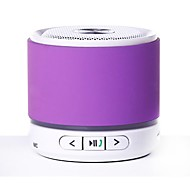 KUBEI 288F Mini Portable V4.0 Bluetooth Speaker FM/ TF/ MIC/AUX-(Purple /Yellow / Blue / Green /Pink / Silver)