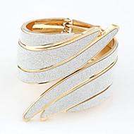 Βραχιόλια Μοναδικό Μοντέρνα Δήλωση Κοσμήματα Πανκ Στυλ Προσαρμόσιμη Ανοικτό Φτερά / Φτερό Κοσμήματα Χρυσό Ασημί Ουράνιο Τόξο Κοσμήματα Για