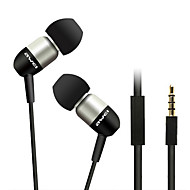 ESQ8i-Awei Super Bass In-Ear-kuuloke kanssa Mic ja Remote Mobilephone/PC/MP3