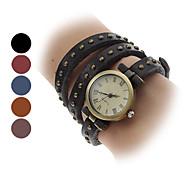 Women's Watch Bohemian Style Leather Band Bracelet