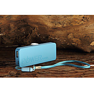 6500mAh Mini Ultra-Thin Portable  Power Bank for iphone 6/6 plus/5/5S/Samsung S4/S5/Note2