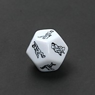 Sex Funny Adult Love Humour Gambling Dice (2 PCS)