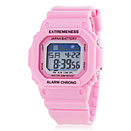 Women's Spectrum LCD Digital Square Dial Silicone Band Sporty Wrist Watch (Assorted Colors) Cool Watches Unique Watches