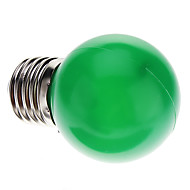 E26/E27 0.5W 7 Dip LED 50 LM Green G45 Decorative LED Globe Bulbs AC 220-240 V