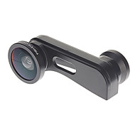 3-in-one Quick-change Wide-Angle, Macro and Fish Eye Camera Lens Kit for iPhone 5/5S