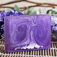 Tianxuan Handmade Lavender Essential Oil Soap Anti-Acne Moisturizing Balance Oil Secretion 100g