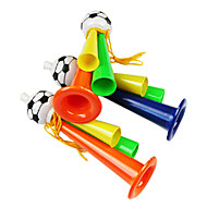 2014 World Cup Three Tube Fans Cheering Plastic Trumpet(Random Color)