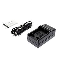 ismartdigi-Samsung SLB-0837B 860mAh, 3,7 V Batteri + billaddare till Samsung L301 L70 L83T NV20 NV15