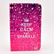 Keep Calm and Sparkle Pattern Full Body Case with Stand for Samsung Galaxy Tab 2 7.0 P3100