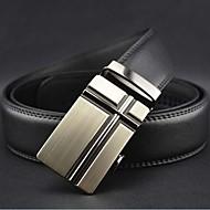 Men's Fashion Automatische Buckle Leather Belt