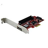 PCIE  to SATA and ESATA and  IDE JMB363 Array Card Expansion Card
