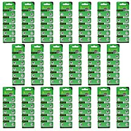 Hotsale TianQiu AG1/364A/L621 1.55V Alkaline Cell Button Battery - Silver (20 Packs / 200 PCS)