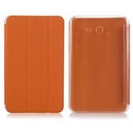 Enkay Suojaava PU Leather Case telineellä Samsung Galaxy Tab 3 Lite T110