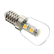 1W E14 LED-maïslampen T 7 SMD 5050 60-70 lm Warm wit Decoratief AC 220-240 V