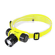 Lights Headlamps / Diving Flashlights/Torch LED 200 Lumens 3 Mode Cree XR-E Q5 18650 Adjustable Focus / RechargeableDiving/Boating /