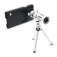 Zoom 12X Telephoto Metal Cellphone Lens with Tripod for Samsung S5