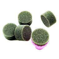 1PCS Maniküre Sponge Nail Art Stamper-Tools mit 5er Sponge Nail Farbverlauf für Nail Art