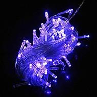 100 LED 10m Blue String Decoration Light for Christmas Party Wedding (220V)