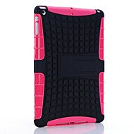 Rugged Rubberized TPU PC Case Kickstand High Impact for iPad Air