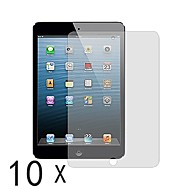 protector de pantalla de alta calidad clara para mini ipad 3 ipad 2 ipad Mini Mini (10 piezas)
