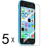 [5-Pack] Premium High Definition Clear Screen Protectors for iPhone 5C
