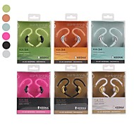 KA-34 3.5 Hi-Fi sports High Quality Style In-Ear Earphones for Samsung Phones(Assorted Colors)