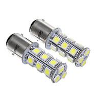 18x5050SMD White Light LED para sinal de luz da lâmpada (2pcs)