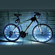 자전거 라이트 / 바퀴 등 LED 싸이클링 방수 AA 루멘 배터리 사이클링-FJQXZ®