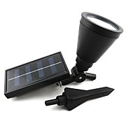 4-LED Outdoor Solar Power Spotlight Landschap Spot Light Tuin Gazon Lamp van de Vloed