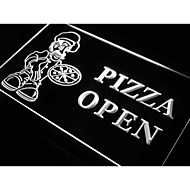 pizza avoin kauppa kahvila myymälä neonvalo merkki
