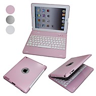 Elonbo Ultradunne Aluminium Design met Protection Shell Bluetooth-toetsenbord voor iPad 2/3/4