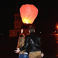 KongMing Candle Powered Flying Sky Lantern (2 Pack/Assorted Color)
