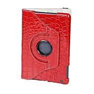 360 Degree Rotating Crocodile case for iPad mini 3, iPad mini 2, iPad mini (Assorted Colors)