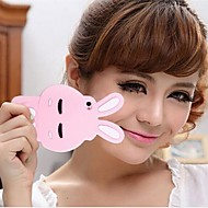 JOYLAND Staying Adorable Bunny Solid Color Silica Gel Back Cover iPhone 4/4S (Assorted Color)