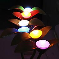 Lotus Form Bunte ABS LED-Nachtlicht